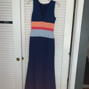 BCBG Navy Dress PERFECT Condition Size 0